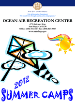 Ocean Air Summer Camp Program Brochure