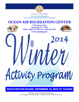 Winter 2013 2014 Calendar Department Of Parks And | Download PDF