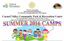 2016 CV Rec Center Summer Camps