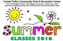 2016 CV Rec Center Summer Program
